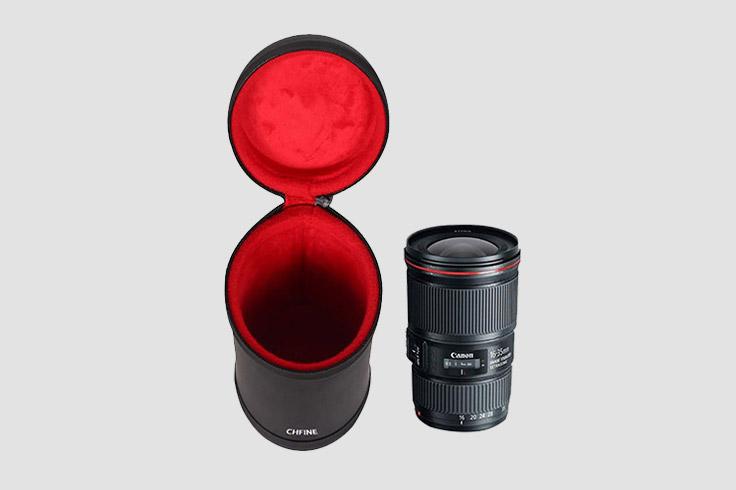 Camera Lens Hard Case